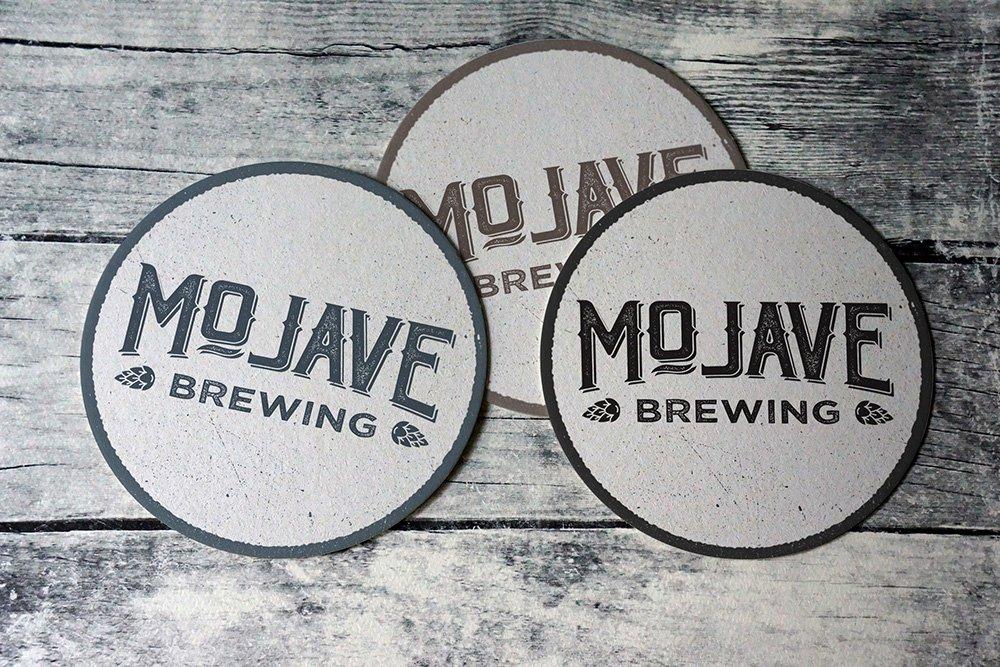 Mojave Brewing Coaster