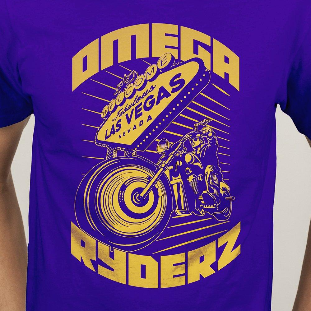 Omega Ryderz T Shirt Illustration